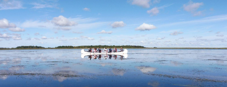 Le canot rabaska un moyen d'évasion
